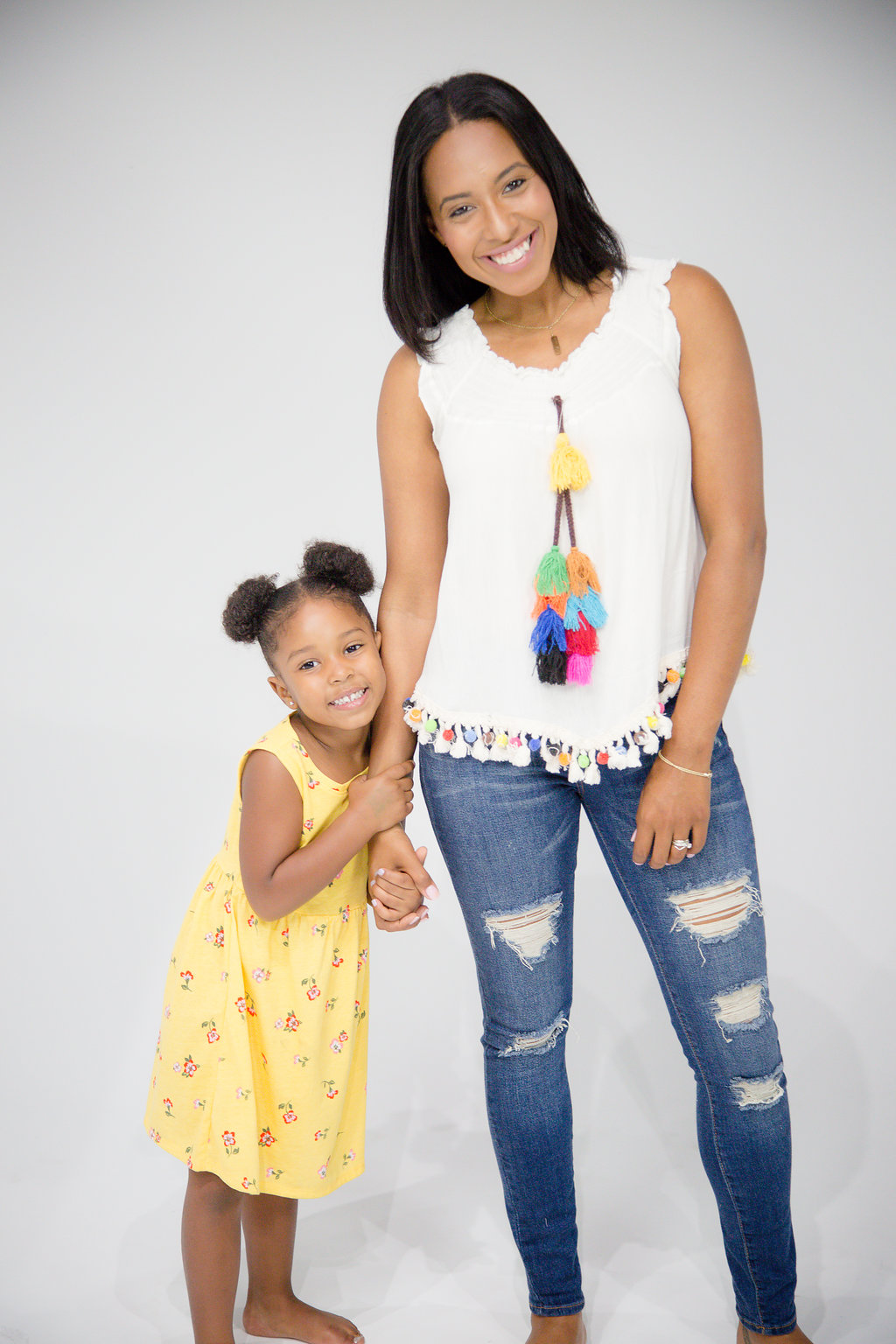 toni collier, mom and daughter